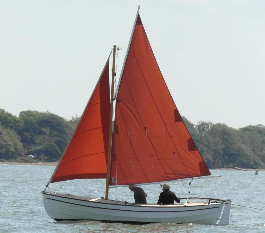 Campion design 16ft lug yawl or sloop double ender